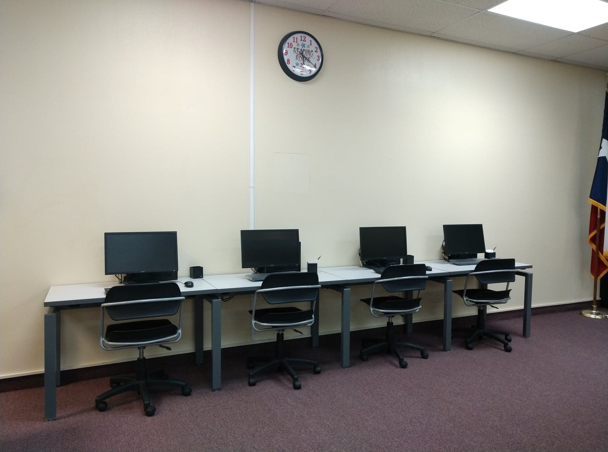 Adult Computer Stations